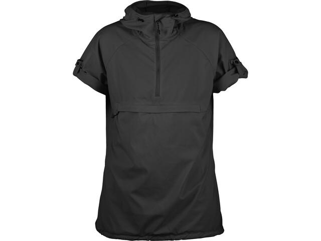 Fjällräven High Coast Hooded Shirt SS Women Dark Grey